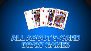 The First-Timer's Guide to Playing 5 Card Draw Poker